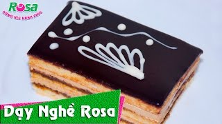 Bánh Opera Chocolate hương vị tuyệt vời