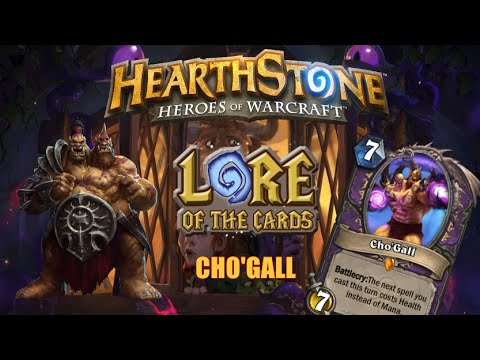 Hearthstone | Lore of the Cards | Cho