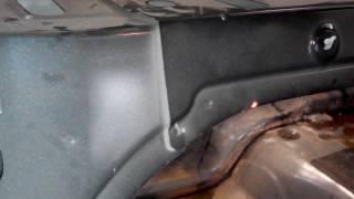 Mazda 3, скрип сзади.