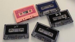 카세트 테이프 제작 • BTS Cassette tape…
