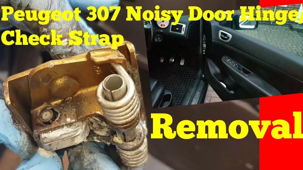 Car Front DOOR CHECK STOPPER STRAP Hinge Limiter R//L For Peugeot 206 3DR
