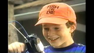 Reel Fishing Handheld Game Playmates Commercial 1998