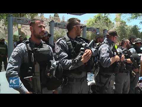 Clashes in Jerusalem upgrades with mounting Palestinian anger