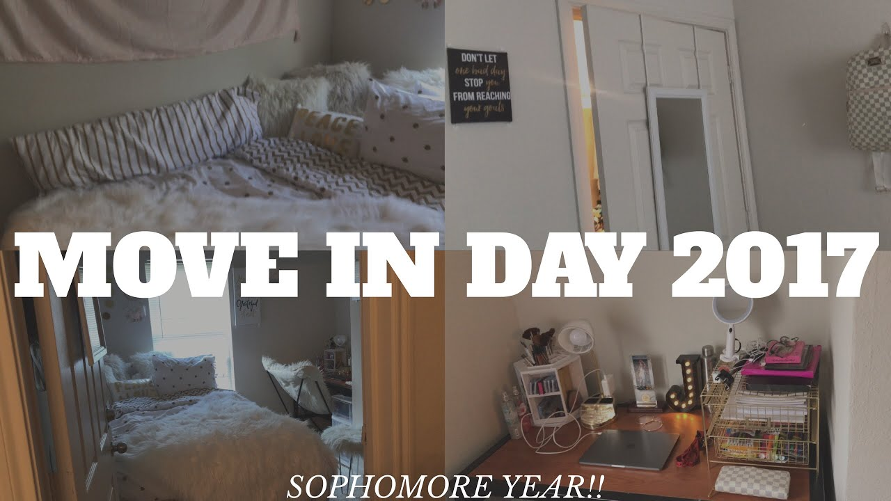 Wonderful COLLEGE MOVE IN DAY VLOG + MINI DORM ROOM TOUR 2017 | CLARK ATLANTA  UNIVERSITY Part 21
