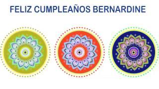 Bernardine   Indian Designs - Happy Birthday