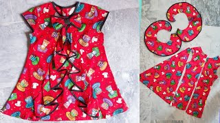 Baby Frock Cutting and stitching