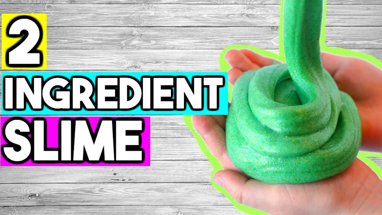 2 ingredient slime recipes how to make slime without glue or how to make slime without glue or borax ccuart Image collections