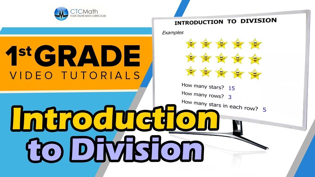 1st Grade Math Tutorials: Introduction to Division - YouTube