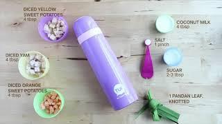 Tupperware Thermal Flask Recipe - Bubur Cha Cha