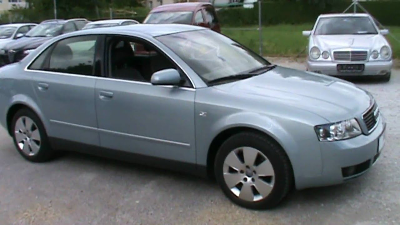 2003 audi a4 1 9 tdi full review start up engine and in depth tour youtube. Black Bedroom Furniture Sets. Home Design Ideas