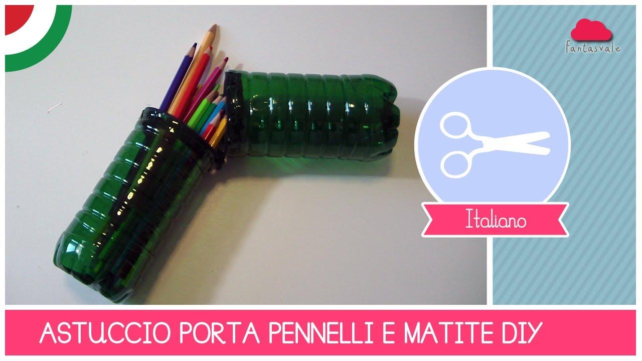 Preferenza Come riciclare bottiglie di plastica: l'Astuccio porta penne e  XB43