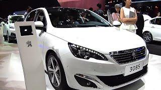 2016, 2017 Peugeot 308 S sedan hits the Beijing Auto Show in China, Peugeot 308 2016, 2017 model
