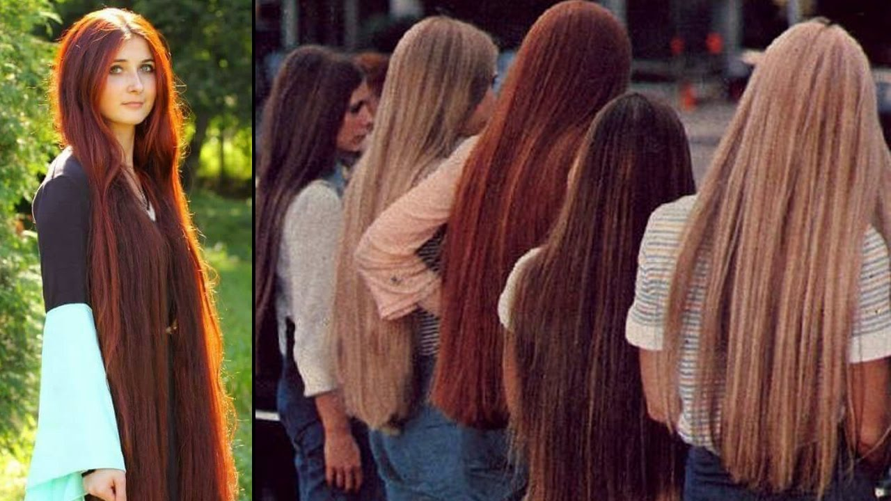 super long hair women - beautiful