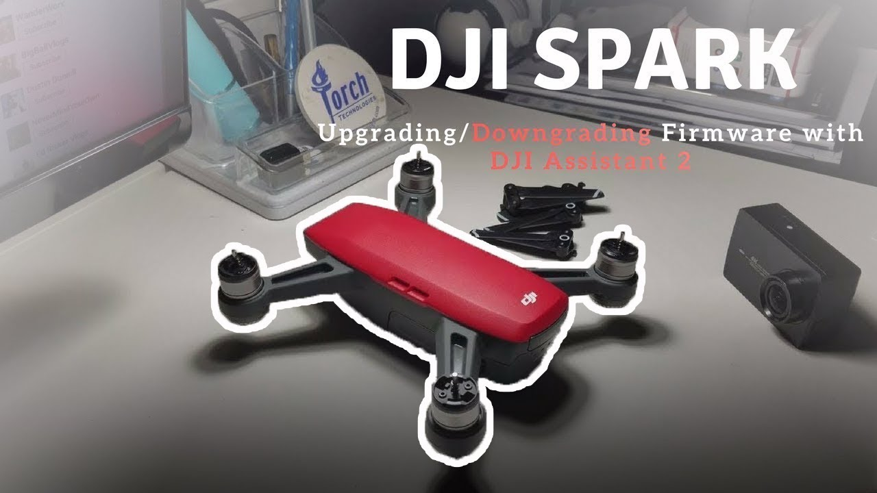 DJI Spark - Upgrading/Downgrading Firmware with DJI Assistant 2
