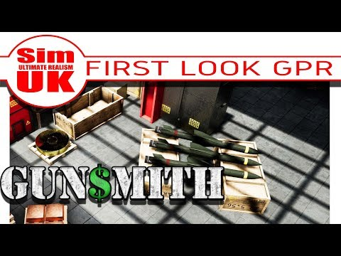 Beginners Introduction, Tutorial + First Look Gameplay Review Gun$mith