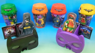 the lego batman movie 2017 set of 8 mcdonalds happy meal kids toys video review