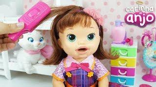 BABY ALIVE SARA CARINHA DE ANJO EPISÓDIO COMPLETO NOVELINHA BABY DOLL KIDS