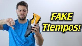 FAKE TIEMPOS! - Nike Tiempo Rio 4 - Review + On Feet