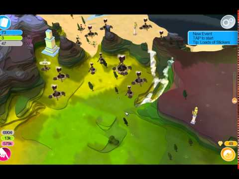 Godus Beta v2.2.1 - Ep. 1 -  more bugs than a food recycling bin (Treasure Temple 2 working)