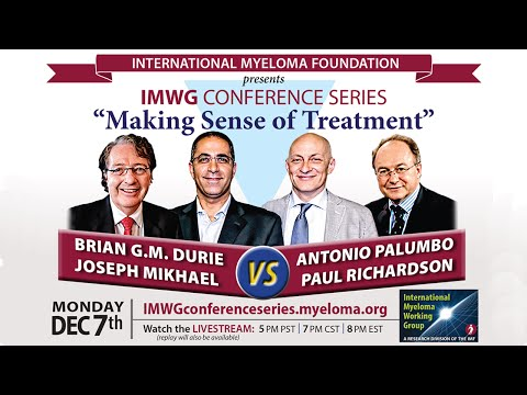 IMWG Conference Series:  57th ASH Annual Meeting, Orlando, FL