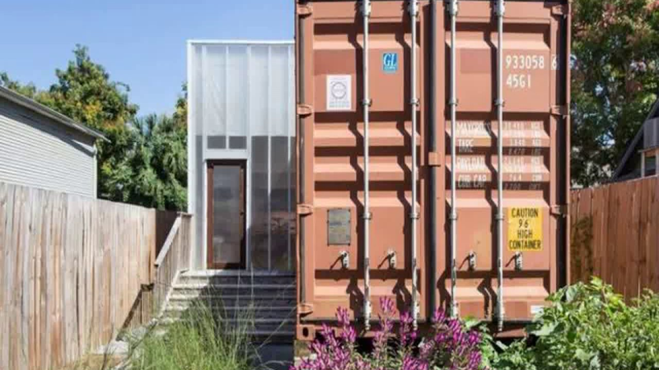 Shipping Container House New Orleans Youtube
