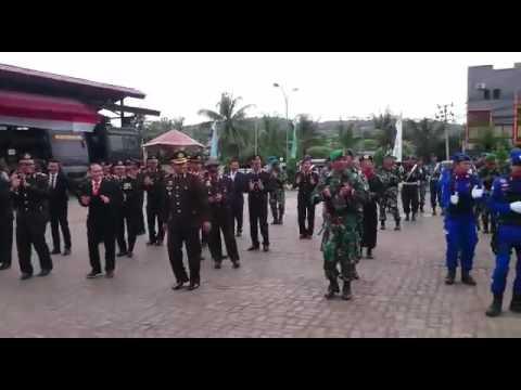Goyang maumere Polres Sorong Kota