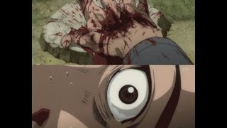 Anime Violence,Gore,Horror And Death Scenes