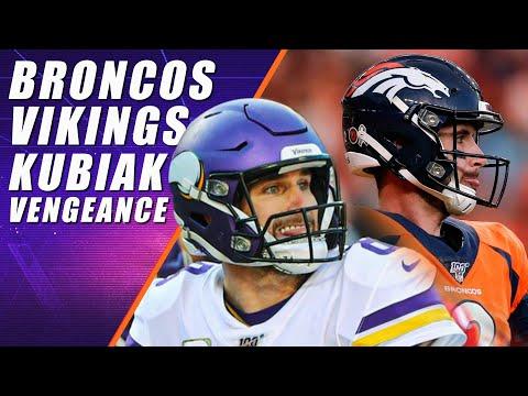Denver Broncos At Minnesota Vikings: NFL Week 11