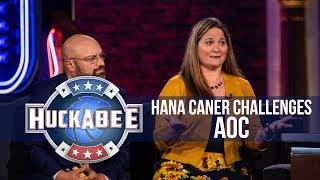 Hana Caner CHALLENGES Ocasio-Cortez To Live Under Socialism For 2 WEEKS | Huckabee