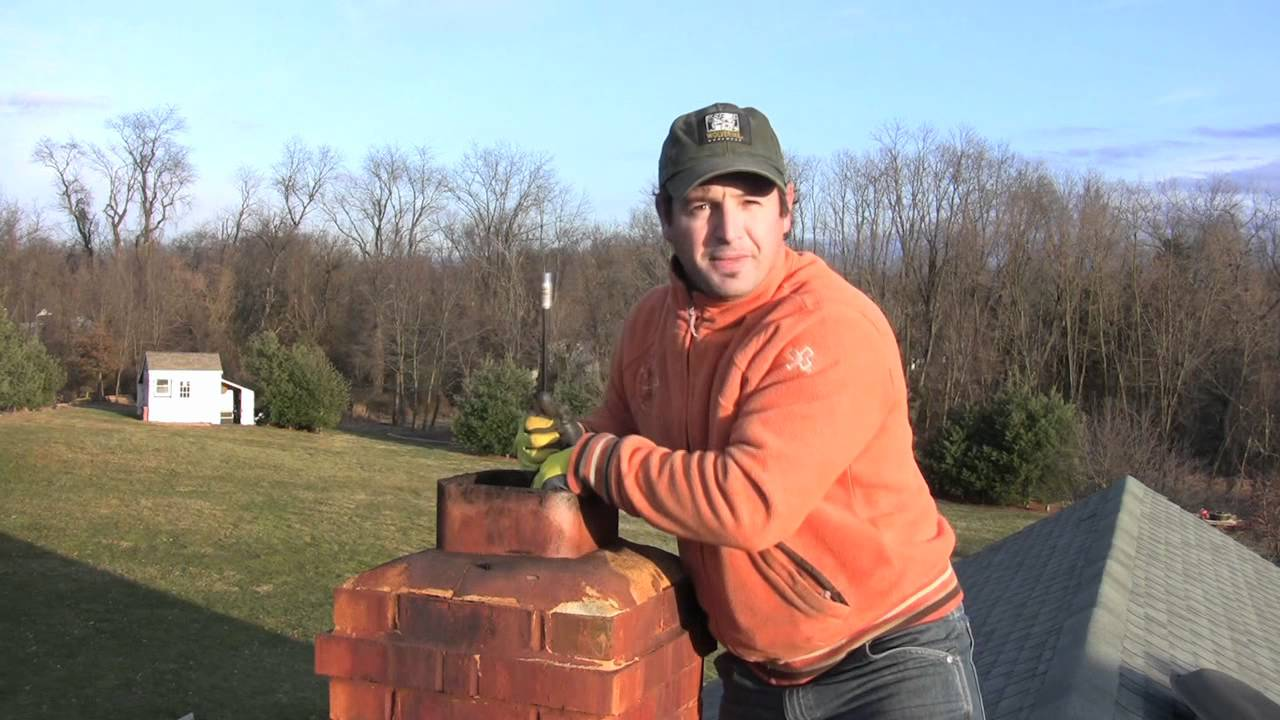 Chimney Cleaning 101  How to Clean Your Chimney DIY  YouTube