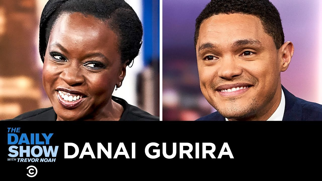 Danai Gurira - Nurturing Awareness with Love Our Girls | The Daily Show