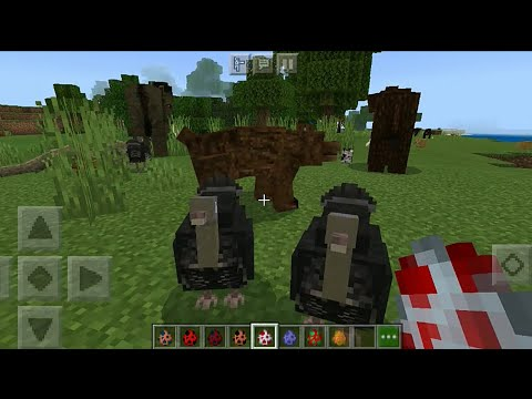More Creatures Add-on in Minecraft PE