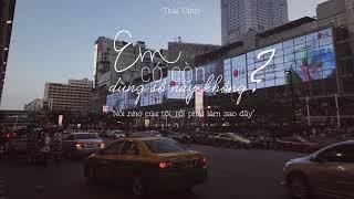 [Lyric Video] Em Có Còn Dùng Số Này Không - Thái Đinh