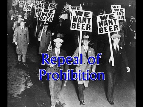 History Brief: The Repeal of Prohibition