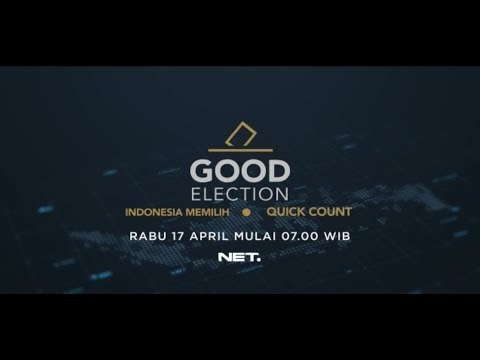 FULL LIVE STREAM QUICK COUNT PEMILU 2019