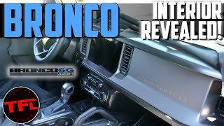Spied: New 2021 Ford Bronco Interior Revealed Plus All the 2021 Jeep Wrangler Updates To Compete