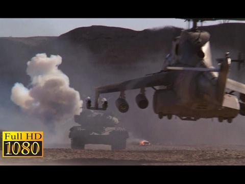 Rambo 3 (1988) - Tank Vs Helicopter Scene (1080p) FULL HD