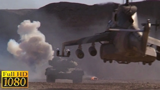 Rambo 3 (1988) - Tank Vs Helicopter Scene (1080p) FULL HD