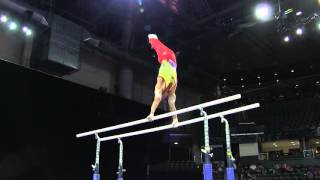 Javier Sandoval (COL) - Parallel Bars Final - 2016 Pacific Rim Championships