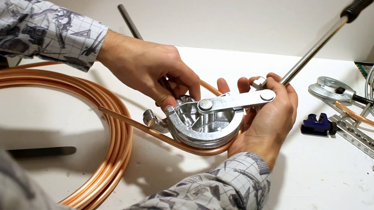 How not to bend copper pipe for coils experimenting with