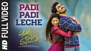 Padi Padi Leche Full Video | Padi Padi Leche Manasu | Sharwanand, Sai Pallavi | Vishal Chandrashekar