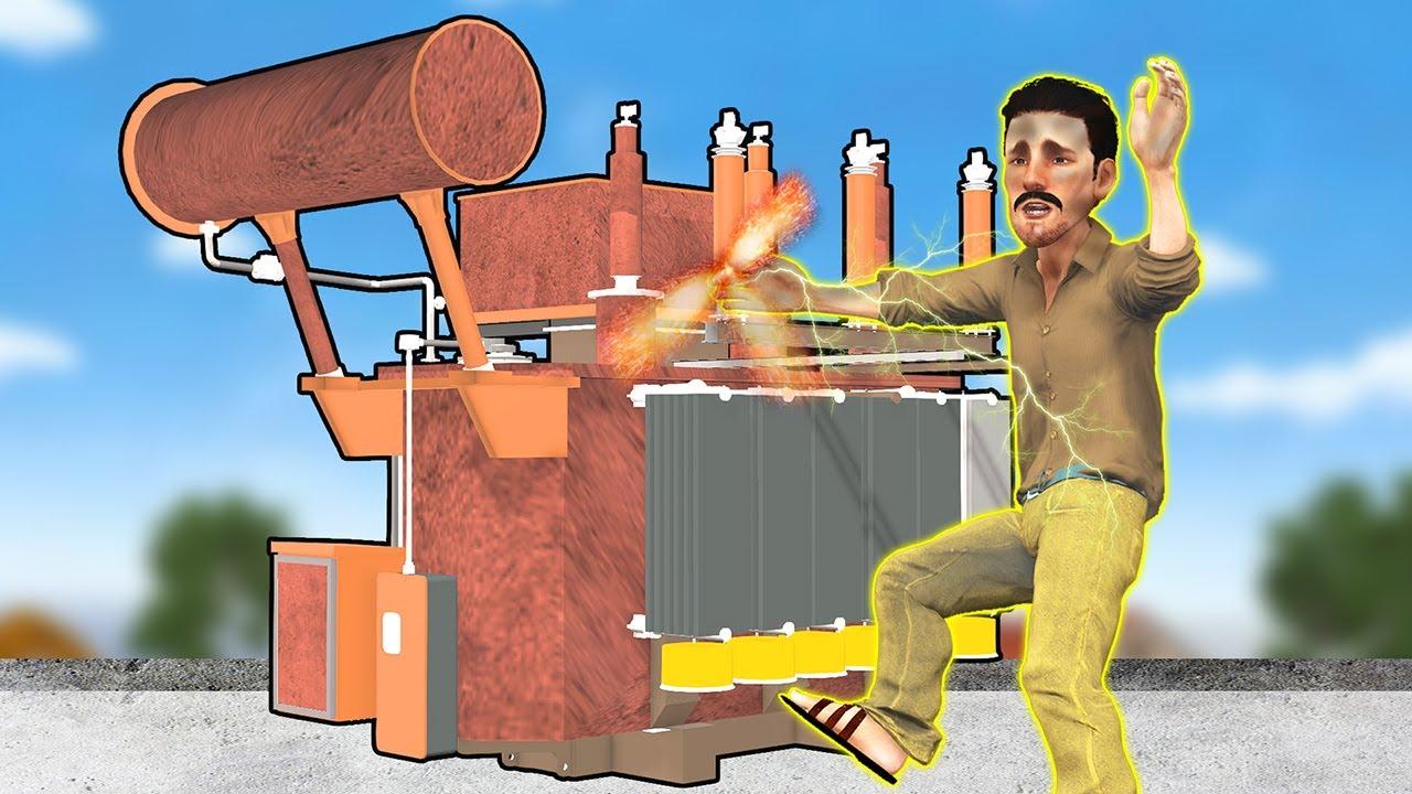 బద్దకపు ఎలక్ట్రీషియన్ కామెడీ కథ Telugu Kathalu - Funny Comedy Telugu Stories - 3D Telugu Fairy Tales