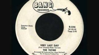 Thyme - Very Last Day