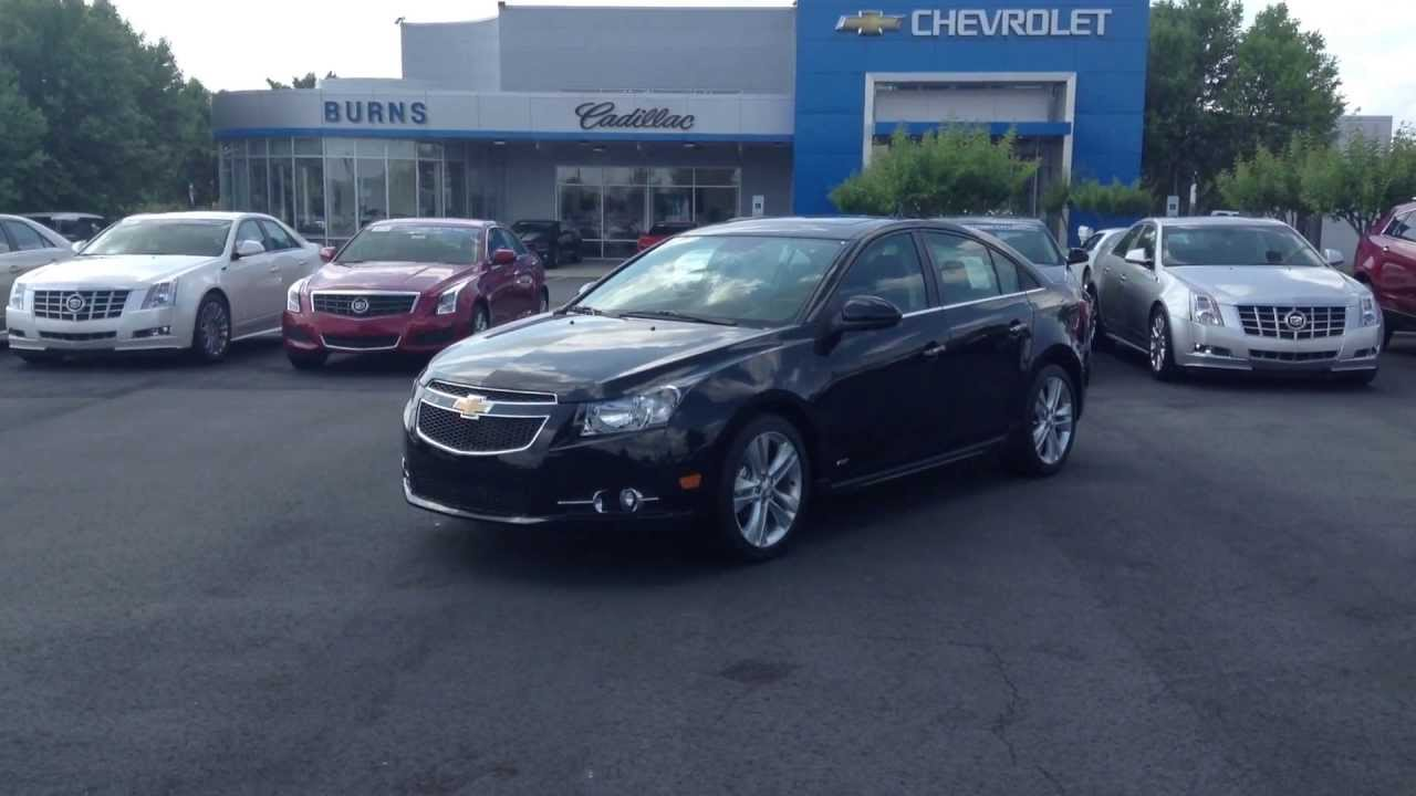 Cruze 2013 chevy cruze ltz for sale : 2013 Chevrolet Cruze Black Granite LTZ RS, Burns Chevrolet ...