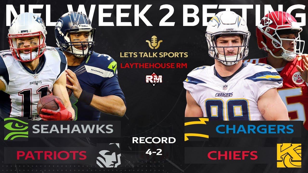 betting predictions nfl week 2