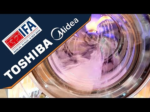 IFA 2018 - Midea & Toshiba home appliances