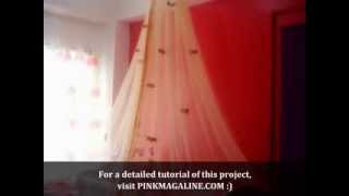 Diy Project How To Make A Canopy Mosquito Net