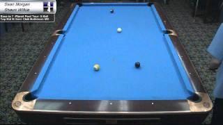 Sean Morgan vs Shaun Wilkie at Top Hat Cue Club
