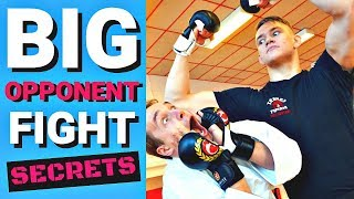HOW TO DEFEAT A BIG OPPONENT | 2 Tactics 1 Exercise — Jesse Enkamp