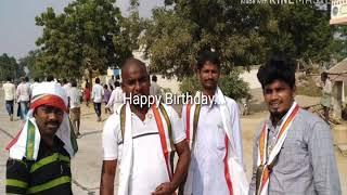 My birthday wishes from kurampally youth..To kranthi valki